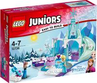 Купить LEGO Juniors Конструктор Игровая площадка Эльзы и Анны 10736