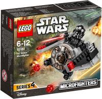 Купить LEGO Star Wars Конструктор Микроистребитель-штурмовик TIE 75161