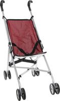 Купить Melobo Прогулочная коляска для кукол цвет бордовый, Куклы и аксессуары