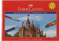 Купить Faber-Castell Блокнот для рисования 15 листов формат А4, Бумага и картон