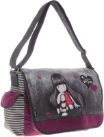 Купить Santoro Gorjuss Сумка школьная цвет бордовый, Kinderline International Ltd.