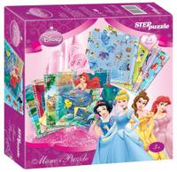 Купить Step Puzzle Пазл для малышей Принцессы Disney 2 в 1