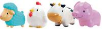 Купить Munchkin Набор игрушек для ванной Деревенские зверюшки 4 шт, Munchkin Inc.