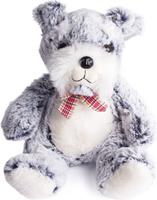 Купить Button Blue Мягкая игрушка Щенок Басти (терьер) 30 см