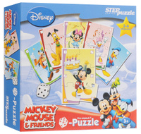 Купить Step Puzzle Пазл для малышей Микки Маус, Степ Пазл ЗАО (Россия)