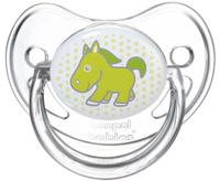 Купить Canpol Babies Пустышка силиконовая ортодонтическая от 6 до 18 месяцев цвет салатовый
