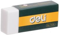 Купить Deli Ластик цвет белый E7536, Чертежные принадлежности