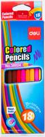 Купить Deli Набор цветных карандашей 18 шт