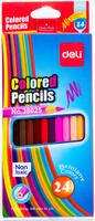 Купить Deli Набор цветных карандашей 24 шт