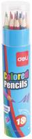 Купить Deli Набор цветных карандашей с точилкой 18 шт