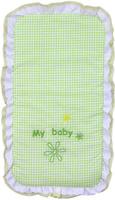 Купить Fairy Комплект белья для новорожденных в коляску Белые кудряшки цвет белый зеленый, Fairy (ВПК)