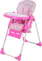 Купить Selby Стульчик для кормления цвет белый розовый BH-435 (2)