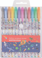 Купить ArtSpace Набор гелевых ручек Космонавты 12 цветов