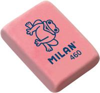 Купить Milan Ластик 460 цвет красный, Чертежные принадлежности