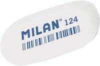 Купить Milan Ластик 124 цвет белый, Чертежные принадлежности