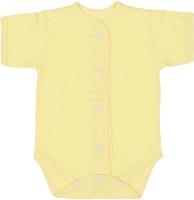 Купить Боди детское Чудесные одежки, цвет: желтый. 5869. Размер 56, Одежда для новорожденных