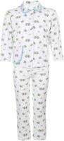 Купить Пижама детская Чудесные одежки, цвет: белый, голубой. 5562. Размер 110/116, Одежда для мальчиков