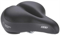 Купить Седло велосипедное BBB SoftShape Memory Foam Anatomic , цвет: черный, Седла, штыри и накладки