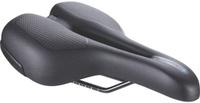 Купить Седло велосипедное BBB SportPlus Men Ergonomic Memory Foam Steel Rail , цвет: черный, 17 х 27 см, Седла, штыри и накладки