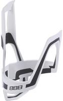 Купить Флягодержатель велосипедный BBB DualCage , цвет: белый, черный