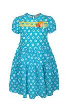 Купить Платье для девочки M&D, цвет: голубой. SJD27010M10. Размер 122, Одежда для девочек
