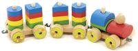 Купить Мир деревянных игрушек Игрушка-каталка Паровозик