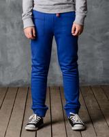 Купить Брюки спортивные для мальчика Modniy Juk, цвет: василек. 15В00080700. Размер 98/104, Одежда для мальчиков
