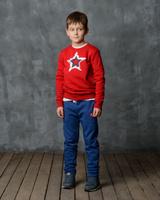 Купить Брюки спортивные для мальчика Modniy Juk, цвет: индиго. 15B00070702. Размер 92/98, Одежда для мальчиков