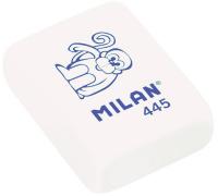 Купить Milan Ластик 445 цвет белый, Чертежные принадлежности