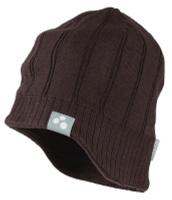 Купить Шапка для мальчика Huppa Jarrod 1, цвет: коричневый. 80060100-70081. Размер L (55/57), Одежда для мальчиков