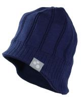 Купить Шапка для мальчика Huppa Jarrod 1, цвет: темно-синий. 80060100-70086. Размер M (51/53), Одежда для мальчиков