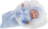 Купить Juan Antonio Кукла Ланита в голубом 27 см