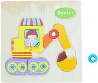 Купить Лесная мастерская Пазл для малышей Экскаватор 1101923, Huanggang Jiazhi Textile Imports and Exports Co. Ltd, Обучение и развитие