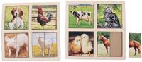 Купить Smile Decor Пазл для малышей Картинки-половинки Домашние животные 1187596, ИП Монжаев С.М. , Обучение и развитие