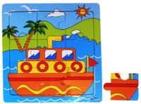 Купить Лесная мастерская Пазл для малышей Кораблик 534979, Huanggang Jiazhi Textile Imports and Exports Co. Ltd