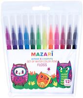 Купить Mazari Набор фломастеров Floss 12 цветов