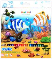 Купить Mazari Набор цветных карандашей Oceanic 24 шт