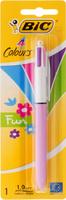 Купить Bic Ручка шариковая Colours Fun 4 в 1 цвет корпуса сиреневый, Ручки