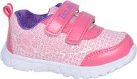 Купить Кроссовки для девочки Tom&Miki, цвет: розовый. B-1089. Размер 21, Обувь для девочек