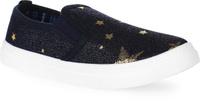 Купить Кеды для девочки In Step, цвет: черный, золотой. A21-1. Размер 31, Обувь для девочек