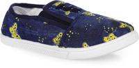 Купить Кеды для девочки In Step, цвет: темно-синий, желтый. 688-13/14. Размер 31, Обувь для девочек