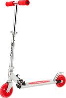 Купить Самокат детский Razor A125 , двухколесный, складной, цвет: красный, стальной, Самокаты