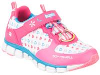 Купить Кроссовки для девочки Kapika, цвет: фуксия, белый. 72228с-1. Размер 29, Обувь для девочек