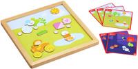 Купить Classic World Развивающая магнитная игра День и ночь