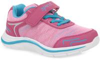 Купить Кроссовки для девочки Kapika, цвет: фуксия, бирюзовый. 72215-1. Размер 32, Обувь для девочек
