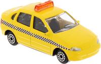 Купить ТехноПарк Модель автомобиля Lada Kalina Такси цвет желтый, Машинки