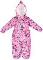 Купить Комбинезон утепленный для девочки Reike Зайчики, цвет: розовый. 36932112. Размер 68, 6 месяцев, Одежда для новорожденных