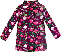 Купить Куртка для девочки Reike Тюльпан, цвет: бордовый. 36939003. Размер 98, 3 года, Одежда для девочек