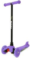 Купить Самокат трехколесный Hubster Mini Flash , цвет: фиолетовый
