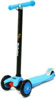 Купить Самокат детский Hubster Maxi , трехколесный, цвет: голубой, черный, Самокаты